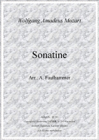 Sonatine (A-B), Wolfgang Amadeus Mozart / Alfred Faulhammer